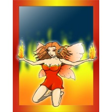 Ember the Fire Fairy